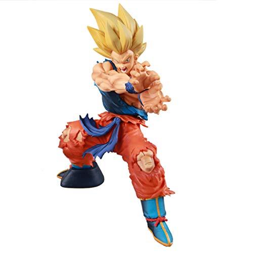 Sun Wukong Modell Ornamente Charakter Puppe Pvc Exquisite Geschenkbox Handwerk (17 cm)