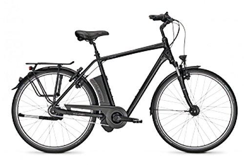 E-Bike Raleigh DOVER IMPULSE 8Ltd 2017ruota libera 28'uomo 17Ah 8G div. taglia, Magicblack matt, 55