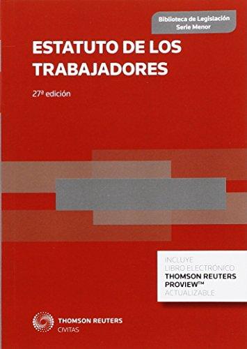 Estatuto de los trabajadores (27ª ed.) (Biblioteca de Legislación - Serie Menor)