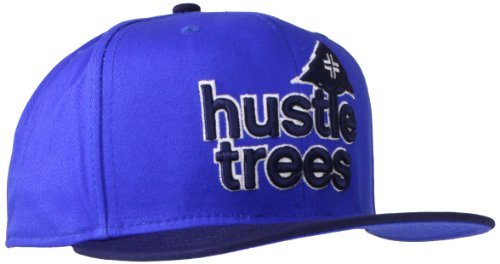 LRG Snapback Cap Hustle Trees Hat - Blue - Hustle Trees