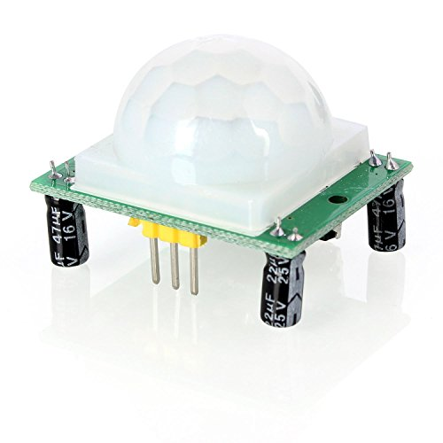 Aukru HC-SR501 Menschliche Körper Pyroelektrizität Infrarot PIR Motion-Sensor- Modul