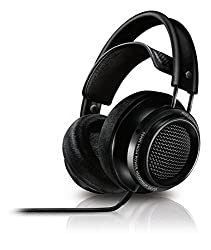 Philips Fidelio X2 Hi-res Headphones Premium Design (Over-ear, Velvet Cushions, 3 M Cable) - Black