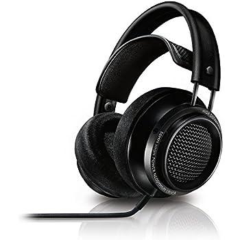 Philips Fidelio X2 Hi-Res Headphones Premium Design (Over-Ear, Velvet Cushions, 3 m Cable) - Black