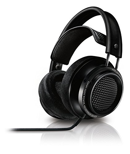 Philips Fidelio X2 Casque Audio Filaire Haute Résolution, Confortable, Excellent Son, Ergonomique
