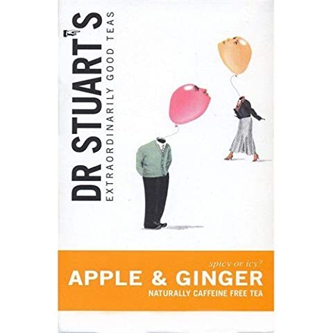 Dr Stuarts Apple And Ginger Herbal Tea 15bag - DRS-4008