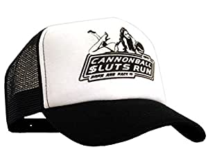 Cannonball bastart sluts run casquette filet noir