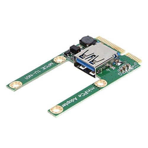 Unterbrechen Mini PCI-E auf USB 3.0PCI Express Karte PCI-E auf USB 3.0Erweiterungskarte -