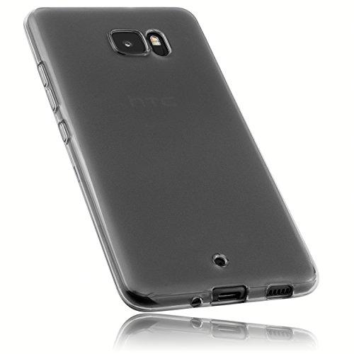 mumbi Schutzhülle für HTC U Ultra Hülle transparent schwarz