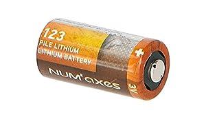 NUMAXES Num'axes Pile Lithium 3 V Cr 123a