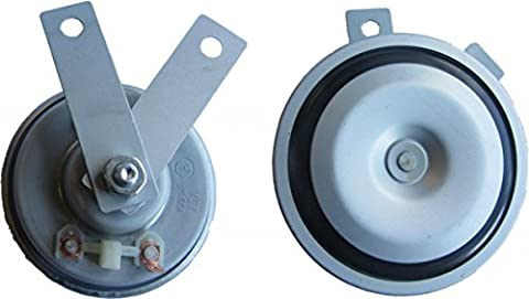 XtremeAuto® 12V DISK HORN HIGH TONE, Loud Blast FOR Van, Truck, Lorry, SUV, Boat