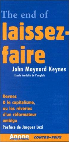 The end of laissez-faire