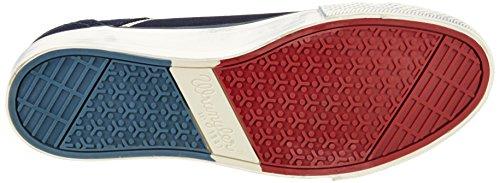 Wrangler Starry Low Suede, Sneaker Basse Uomo Blu (Blau (17 DK.NAVY))