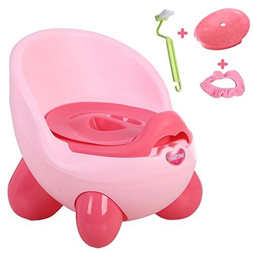 Children's toilet Enfants Toilette- Enfants Toilette Homme Bébé Femme Bébé Pot Urinoir 1-3 Ans Enfants Rose PP Toilette Enfant