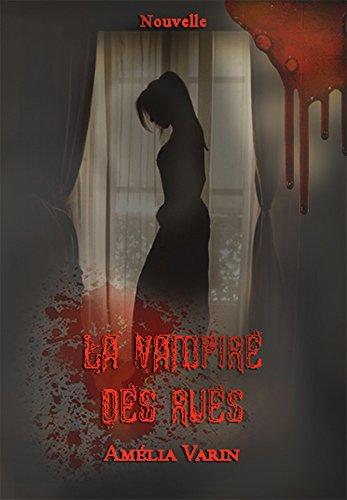Couverture du livre La vampire des rues