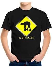 AT-AT Crossing Kinder T-Shirt | Star Wars | Kult - M1 | 116-164