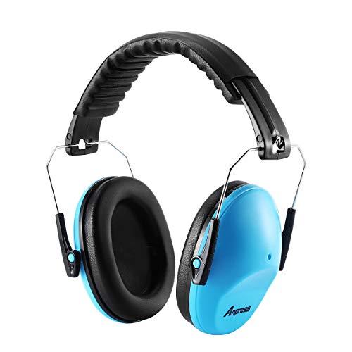Kinder Gehörschutz, Anpress Kapselgehörschutz von 1 bis 16 Jahre, Baby Lärmschutz für Studieren, Schlafen, Konzert, Karneval (Ohrhörer Für Teen Jungen)