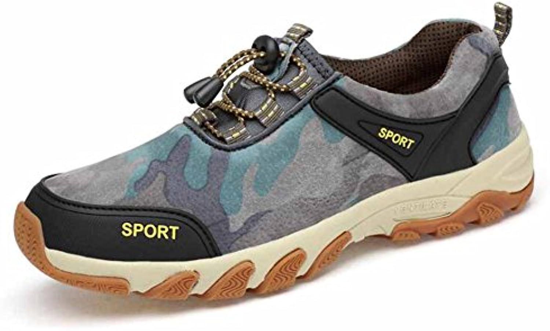 Uomini Uomini Uomini Scarpe da arrampicata 2017 scarpe da escursione in autunno scarpe esterne in pelle traspirante 38-45 (...   eccellente    Gentiluomo/Signora Scarpa  d2b6fa