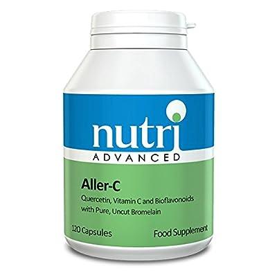Nutri Advanced Aller-C (Quercetin, Vit.C, Bromelain & Bioflavanoids) - 120 Capsules