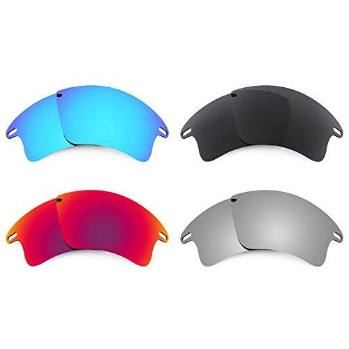 Revant Ersatzlinsen für Oakley Fast Jacket XL Polarisiert 4 Paar Kombipack K019