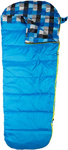 AceCamp Schlafsack für Erwachsene, Wasserabweisend, Mumienschlafsack, 3 Jahreszeiten, bis -7 °C, Blau, 3970