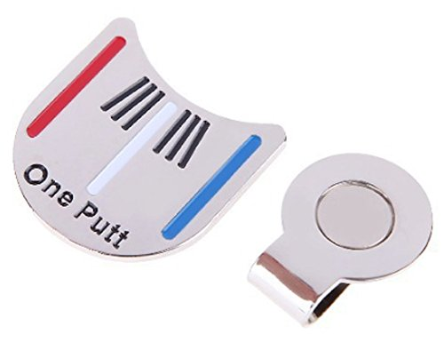 SaySure - Alloy Golf Alignment Aiming Tool Ball Marker Magnetic Hat