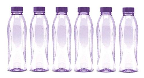 Milton Pet Bottle Set, 6,Pieces, 1000ml, Purple ,(EC-PET-PBT-0019_Purple)