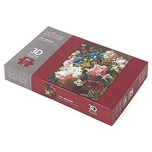 The National Gallery Van Brussel - Puzzle de 500 Piezas, diseño de Flores en jarrón