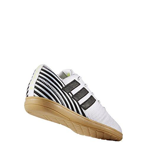 adidas Nemeziz 17.4 in J Sala, Scarpe per Allenamento Calcio Bambino Multicolore (Ftwr White/Core Black/Solar Yellow)