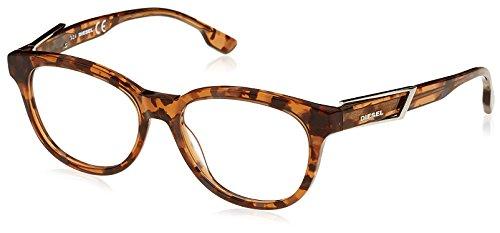 Diesel Unisex Brille DL5112 055 52 Brillengestelle, Braun, -