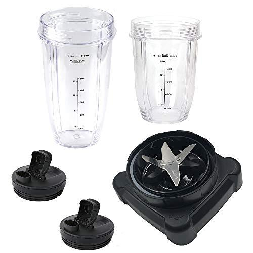 Dunstabzugshaube für Ninja Ultima Blender BL810/BL820/BL830 (568 ml) Becher und Ausgießdeckel