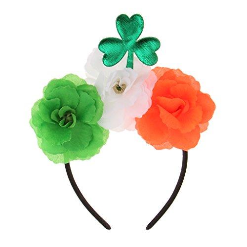 Sharplace Saint Patrick Kopfband Abendkleid Halloween Kostüm Party Stirnband (Saint Dress Up Kostüm)