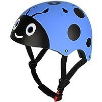 CHICTRY Casco Bicicleta Infantil Ciclismo Casco de Seguridad para Niños Ajustable Casco de Animal Unisex Protección