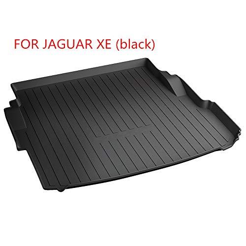 TAYDMEO Kofferraumwanne wasserdicht Kofferraummatte Mattendekoration Autozubehör Kofferraummatte komplett ummantelt, für Jaguar XFL XE XJL F-PACE
