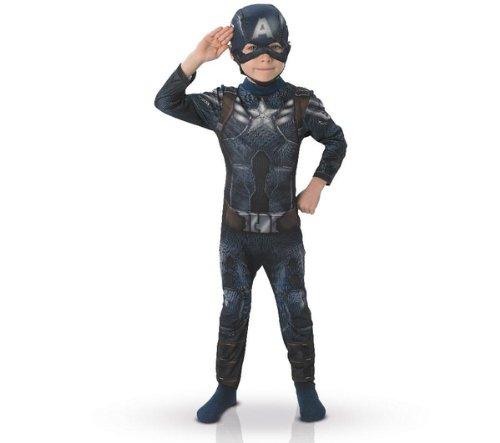RUBIE's Marvel-Captain America child's Kostüm, Größe 7-8 (Kostüm Pi)