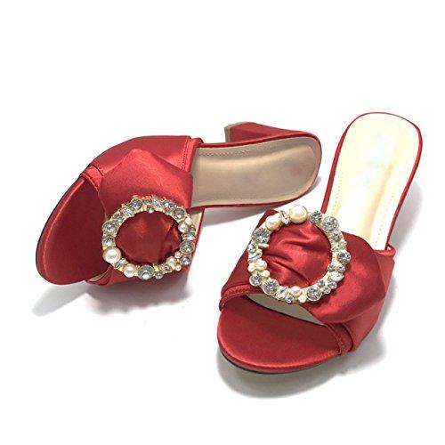 Signora Sandali Ciabatte Sandali Red