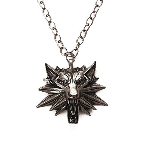 The Witcher Wild Hunt Medaillon Anhänger und Kette Halskette