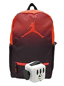 591a7912e8 Nike Air Jordan Jumpman Youth 23 zaino Book bag + free Fidget Cube, Bambina  Donna