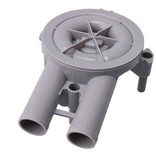 Yibuy 20.5x8.7x12.8cm Grau Kunststoff Teilenummer 36863 Kraftstofftank für Motor Motorteil Zubehör