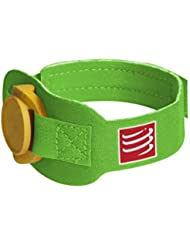 Compressport - Correa para chip de triatlón, verde