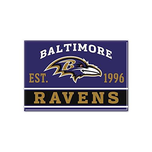 WinCraft NFL BALTIMORE RAVENS Metall Magnet Joe Flacco Jersey