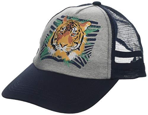 maximo Jungen Basecap Tiger Kappe, Blau (Navy/Graumeliert 4805), 51/53 -