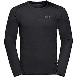 Jack Wolfskin Sky Range Langarmshirt Herren Black Größe XL 2019 Outdoor Shirt