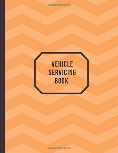 Vehicle Servicing Book: Car Maintenance and Safety Routine Inspection Record Log Book Journal For All Your Automobile and Vehicle Check, Repair & Gas ... pages. (Vehicle maintenance logs, Band 40) - Gas-log-starter