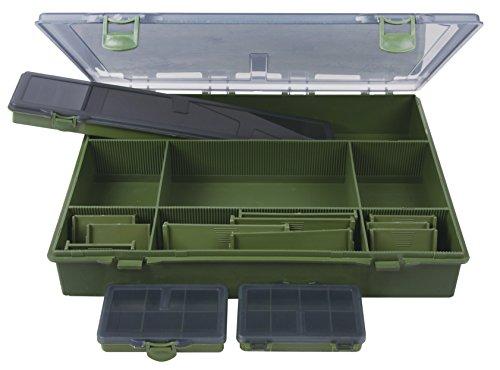 Angelzubehör-Box 37x29x6 cm inkl. 4 mini Boxen