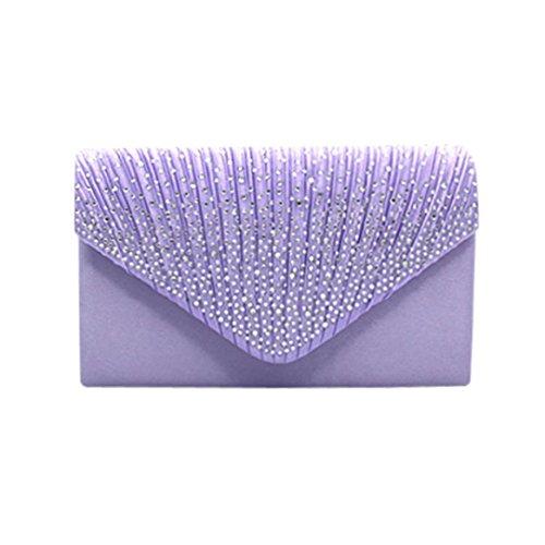 SOMESUN, Poschette giorno donna Light Purple