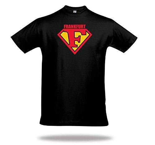 DENVER CITY T-Shirt Superman Letters Superman USA Souvenir Denver - Denver Souvenirs
