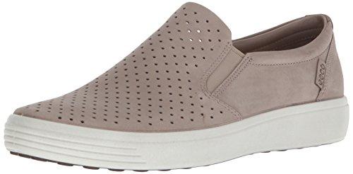 ECCO Men's Soft 7 Slip on Sneaker, Moon Rock, 49 Medium EU (15-15.5 US)