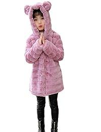 manteau fourrure fille 2 ans