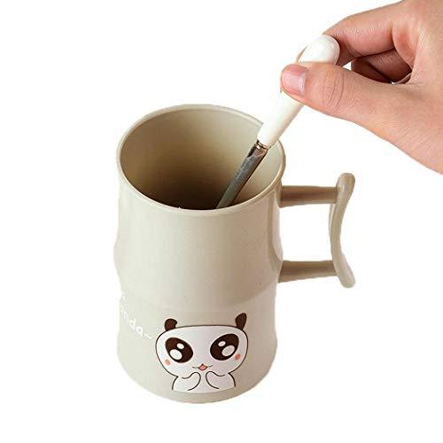 Sisaki Animal Print Brushing Cup Wasser Kaffee Milch Saft Becher Badezimmer Badezimmer - Becher Kaffee Animal-print