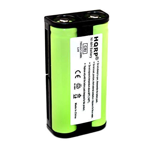 HQRP 700 mAh Batterie pour Sony BP-HP550-11; MDR-RF810, MDR-RF810RK, MDR-RF840, MDR-RF4000, MDR-RF4000K Système de Casque stéréo sans Fil